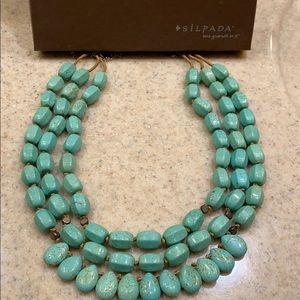 Silpada drops of the ocean necklace